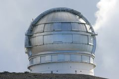 European observatory roque de los muchachos Royalty Free Stock Photos