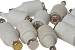 European old fuses Stock Image