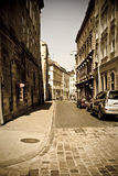 the european old street Royalty Free Stock Photos
