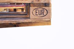 European pallet Stock Images
