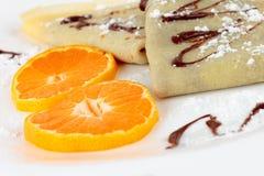 European pancakes Stock Images