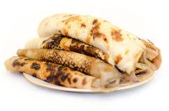 European pancakes Stock Photo