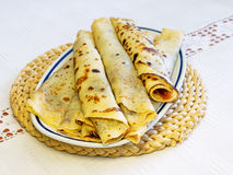 European pancakes Royalty Free Stock Images