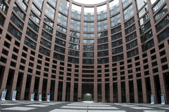 European parlement Stock Photo