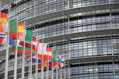 European Parliament Royalty Free Stock Image