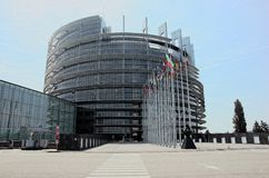 European Parliament. The European Parliament in Strasbourg Stock Photography