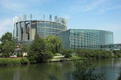 European Parliament Royalty Free Stock Photo