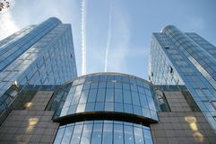 European Parliament. Building in Brussels, Belgium stock photography