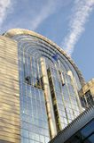 European Parliament. Building in Brussels, Belgium royalty free stock images