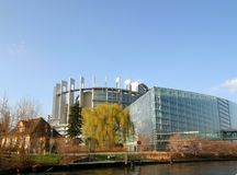 European Parliament. Strasbourg Royalty Free Stock Images
