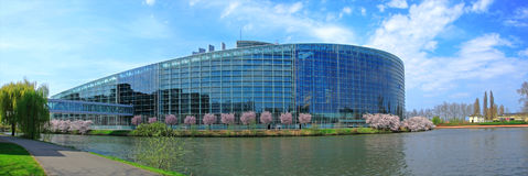 The European Parliament Royalty Free Stock Images