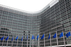 European Parliament. Brussels, Belgium Royalty Free Stock Photography
