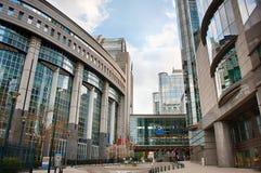 European Parliament in Brussels, Belgium Stock Photos