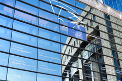 European Parliament - Brussels, Belgium Stock Photography