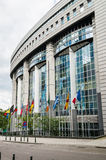 European Parliament in Brussels, Belgium Stock Photos