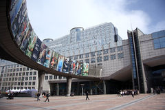 European Parliament in Brussels Royalty Free Stock Image