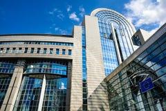 European Parliament, Bruxelles, Belgium Stock Image