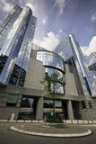 European Parliament building - Brussels, Belgium. European Parliament buildingfrom Brussels, Belgium Stock Images