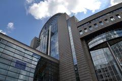 European Parliament building in Brussels, Belgium Stock Image