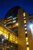 European Parliament building Stock Image