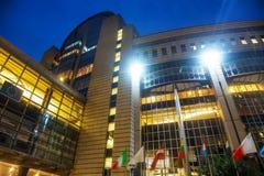 European Parliament building Stock Photo