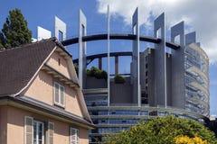 European Parliament Building - Strasbourg - France Royalty Free Stock Photo
