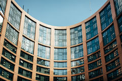 European Parliament Building Royalty Free Stock Photo