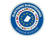 2019 European Parliament election royalty free illustration