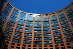 European parliament Royalty Free Stock Image
