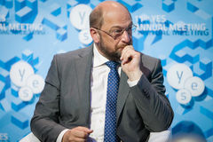 European Parliament President Martin Schulz Stock Photos