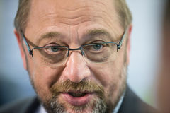 European Parliament President Martin Schulz Stock Photo