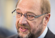 European Parliament President Martin Schulz Stock Photography