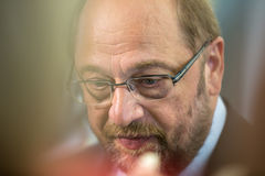 European Parliament President Martin Schulz Royalty Free Stock Images
