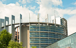 European Parliament  - Strasbourg Stock Photo