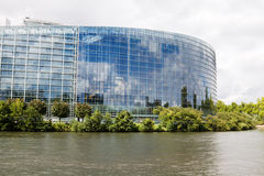 The European Parliament in Strasbourg Stock Image