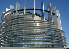 European Parliament in Strasbourg Royalty Free Stock Images