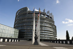 EUROPEAN PARLIAMENT IN STRASBOURG Stock Images