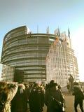 European Parliament in Strasbourg Stock Image