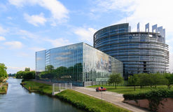 The European Parliament Royalty Free Stock Image