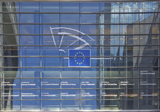 The European Parliament symbols Stock Photography