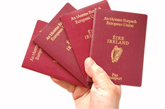 European Passports Royalty Free Stock Photo