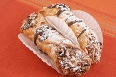 European pastries stock photo