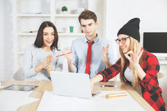 European people working together Royalty Free Stock Images