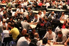 European Poker Tour Kyiv Stock Photos
