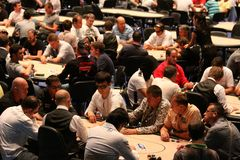 European Poker Tour Kyiv Royalty Free Stock Photos