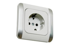 European Power Socket Royalty Free Stock Photos