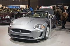 European Premiere Jaguar XK E50 Convertible Royalty Free Stock Photo