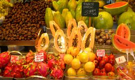 EUROPEAN PRODUCE MARKET Stock Photography