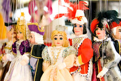 European Puppets Royalty Free Stock Photo