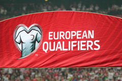 European qualifiers Royalty Free Stock Images
